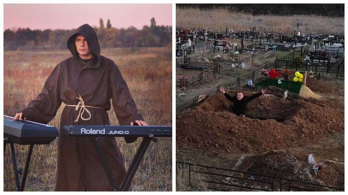 В Харькове тиктокер устроил вечеринку на кладбище