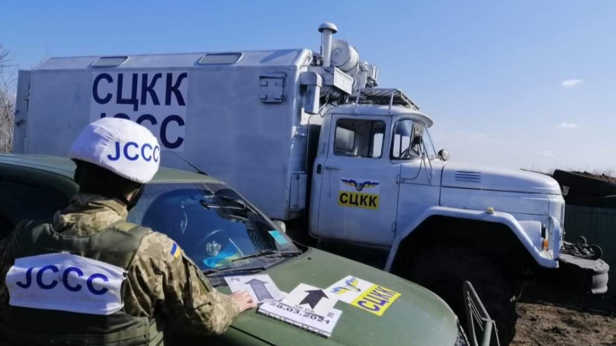 Українські спостережні групи СЦКК розгорнули вздовж лінії розмежування