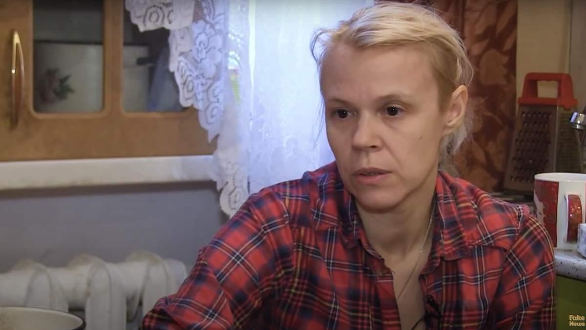 Авторку фейку про розіп'ятого хлопчика у Росії не мають за людину
