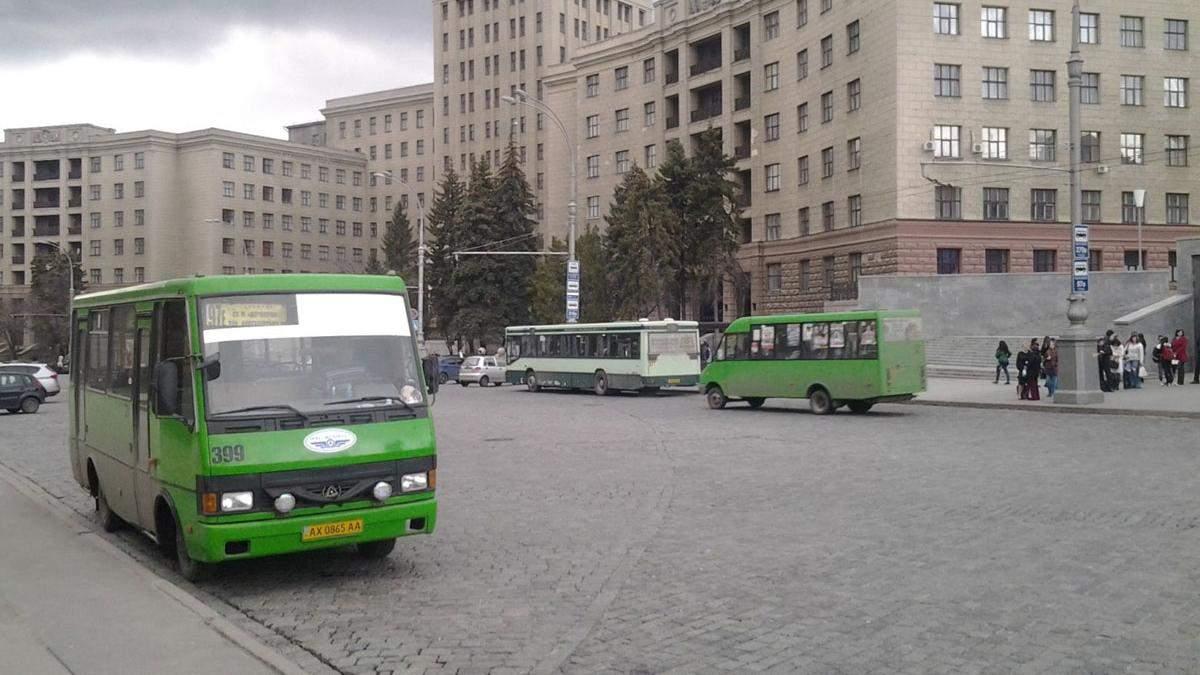 У Харкові 11.04.2021 штрафували маршрутки: порушення карантину