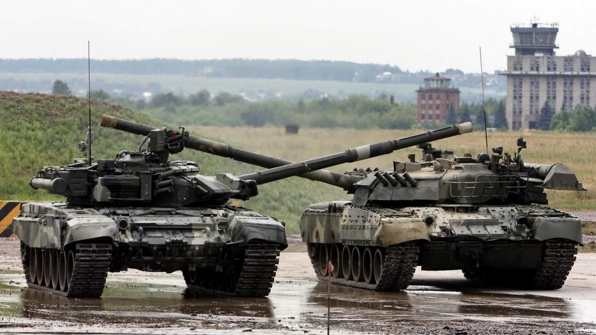 Боевики стянули танки в Донецкую область