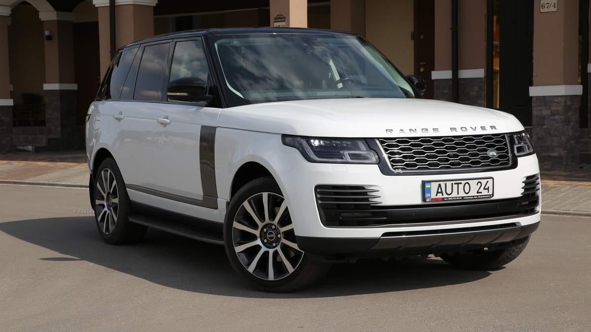 Range Rover четвертого поколения: цена и характеристики подержанного авто