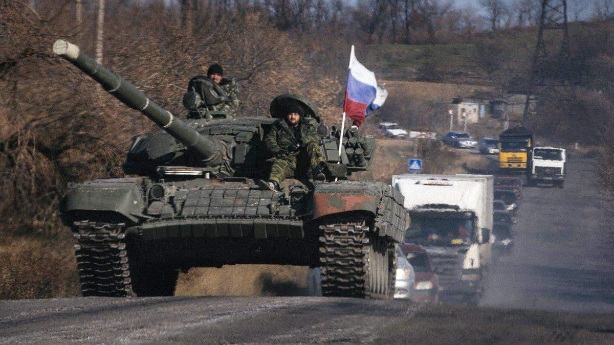 На кордоні України сконцентрувалося 40 тисяч російських військових