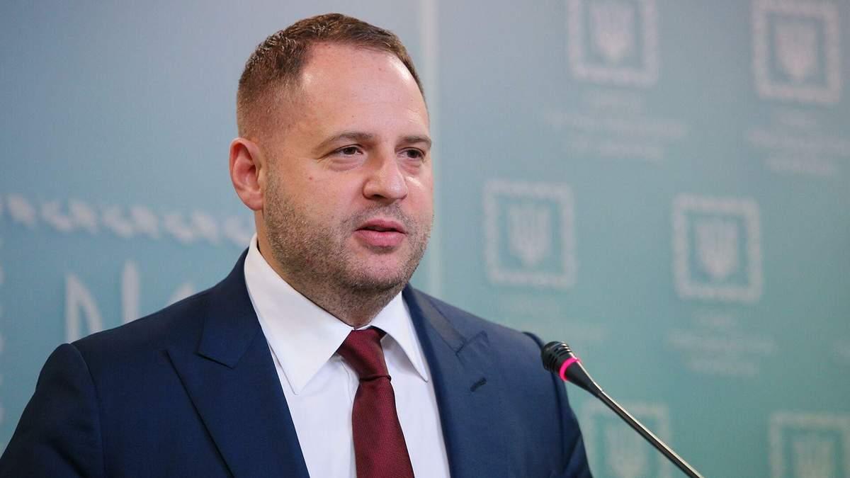 Єрмак заявив, що США мають розмістити в Україні ЗРК Patriot