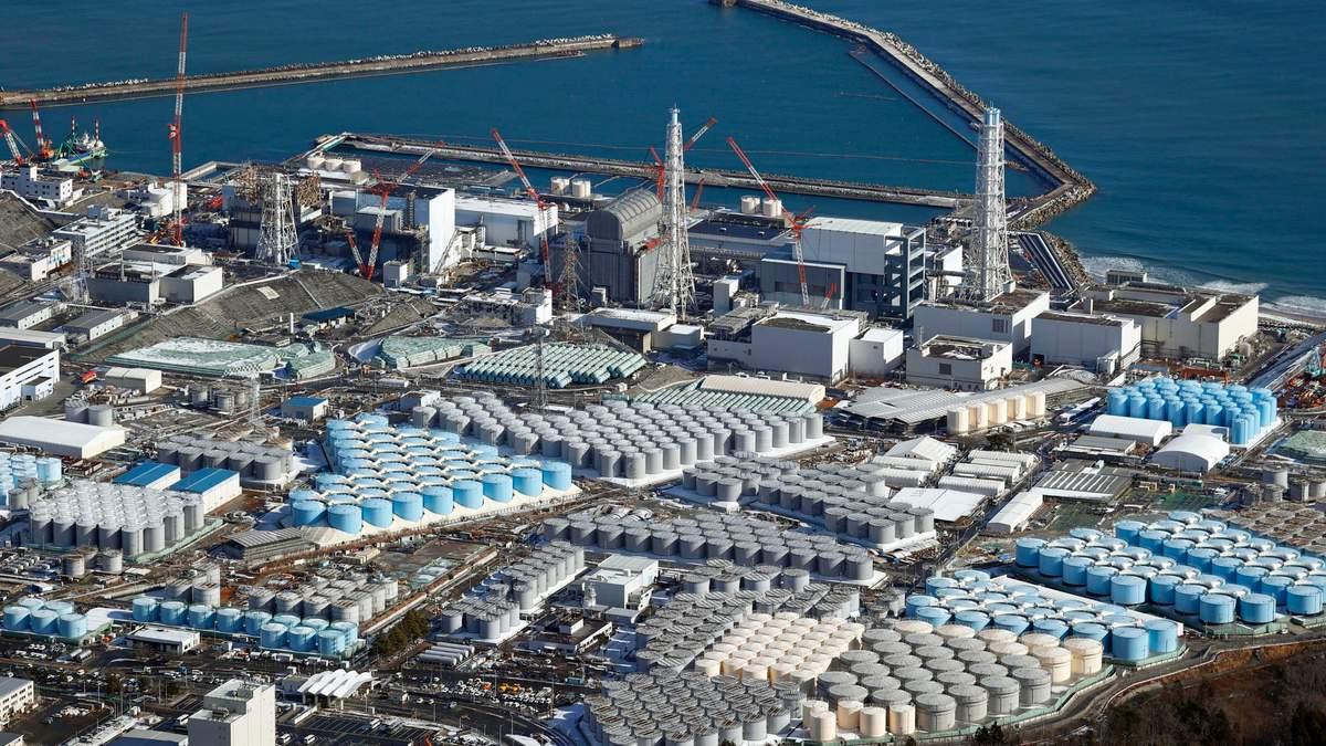 Япония спустит тонны радиоактивной воды с Фукусимы в море
