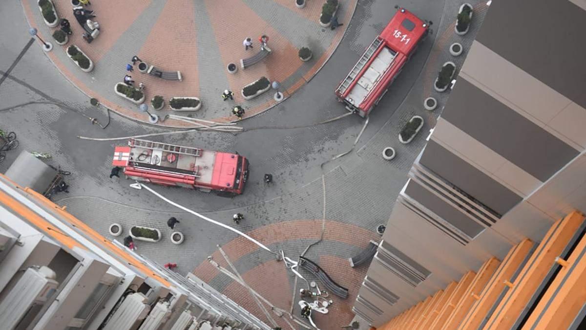 Пожар 13.04.2021 в ЖК Апельсин: фото, видео