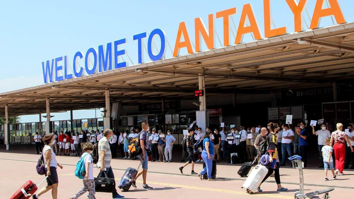 Россия срочно прекращает пассажирское авиасообщение с Турцией
