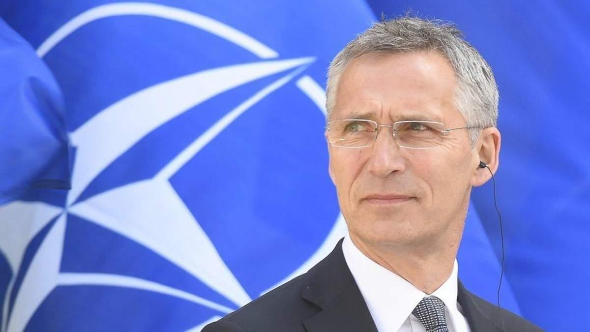 Генсек НАТО: Росія не має права втручатись у вступ України в НАТО