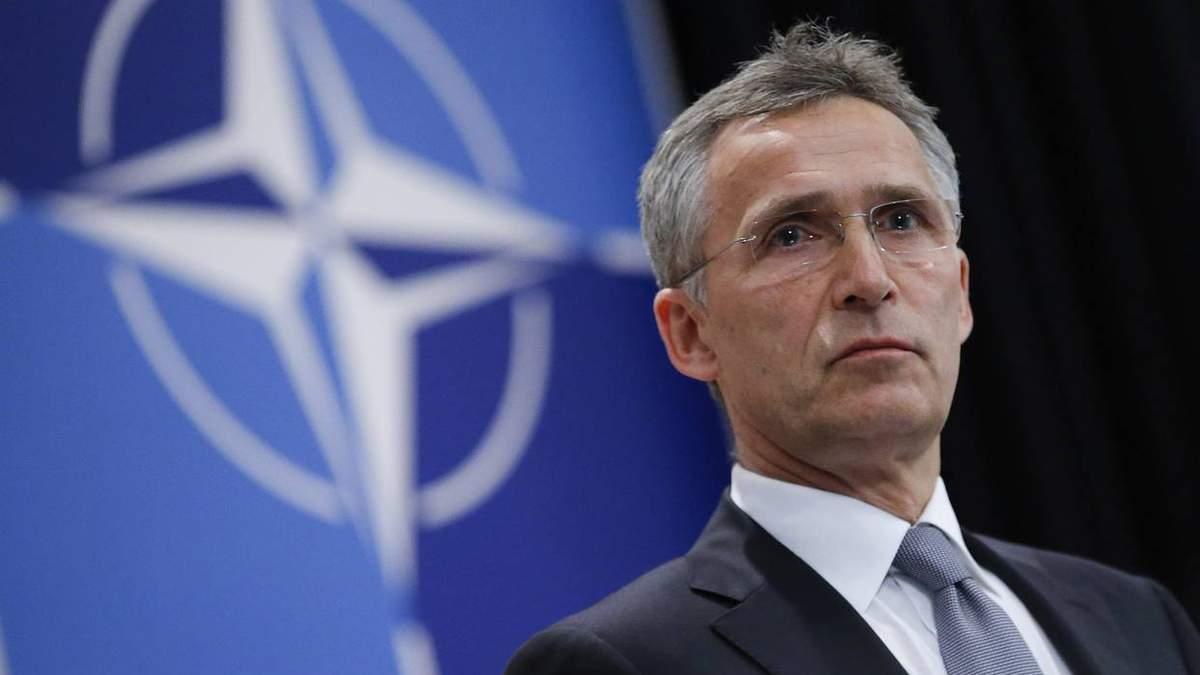 НАТО никогда не признает незаконной оккупации Крыма, - Столтенберг