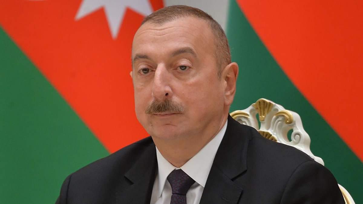 Алієв сказав, що Азербайджан не має претензій до Вірменії