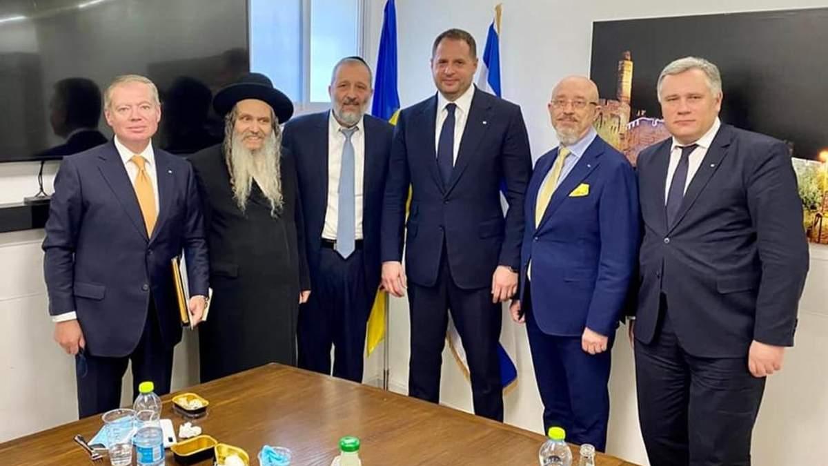 Переговоры украинской делегации с премьером Израиля: темы