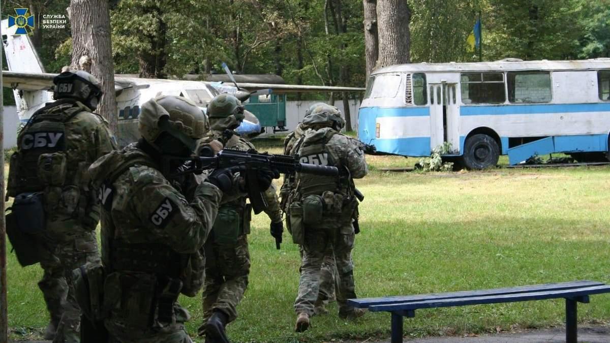 СБУ розпочинає масштабні антитерористичні навчання на Харківщині