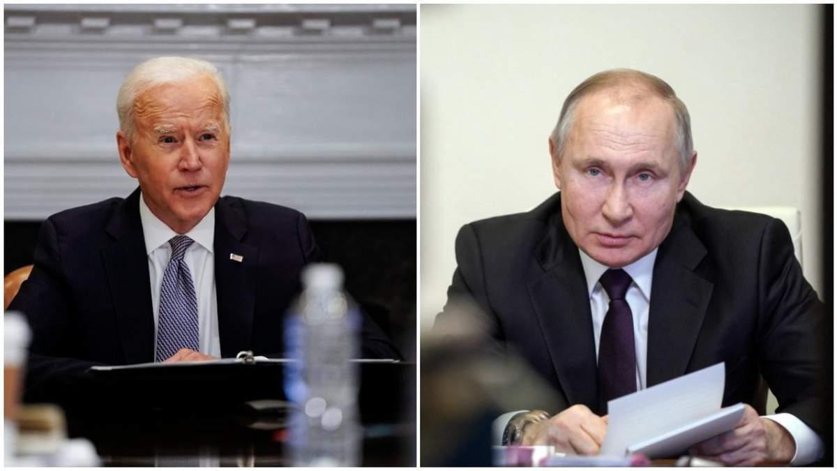 Байден поговорив телефоном з Путіним