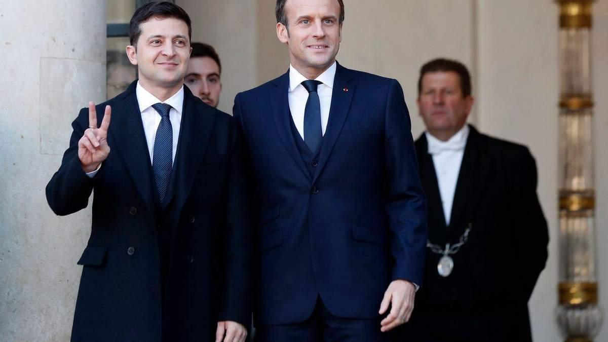 Зеленський зустрінеться з Макроном: про що говоритимуть президенти