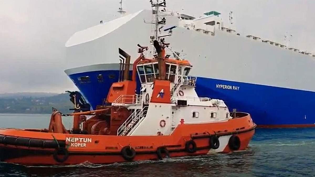 Иран выпустил ракету на израильский корабль Гиперион вблизи ОАЭ