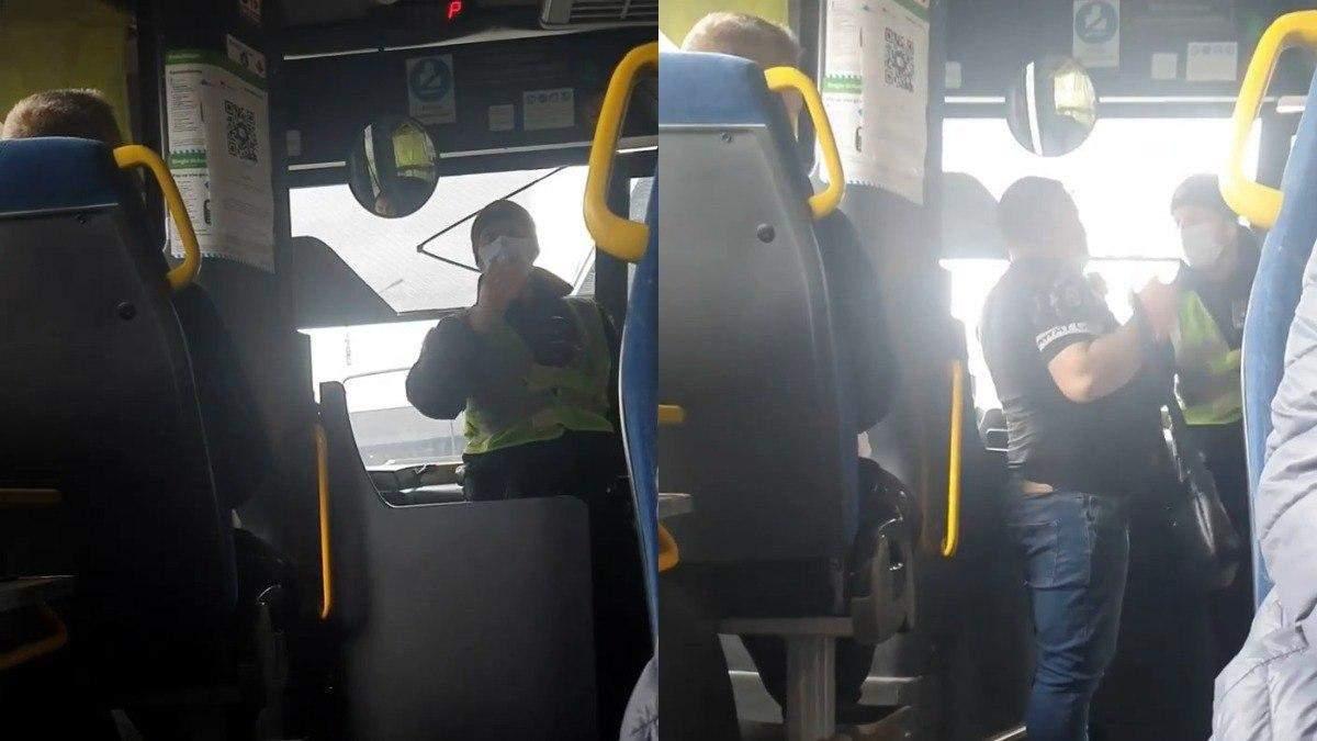 На Харківщині водії тричі відмовляли АТОвцю у проїзді: відео