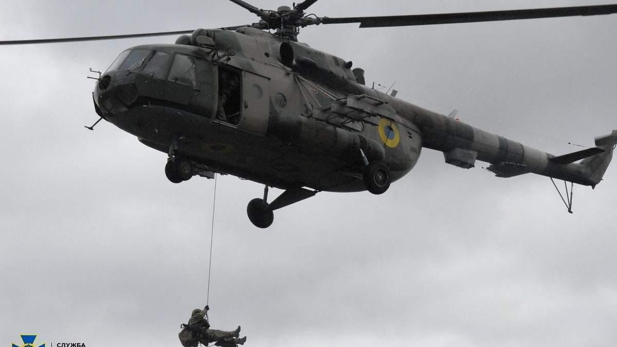 СБУ проводить масштабні антитерористичні навчання на Херсонщині