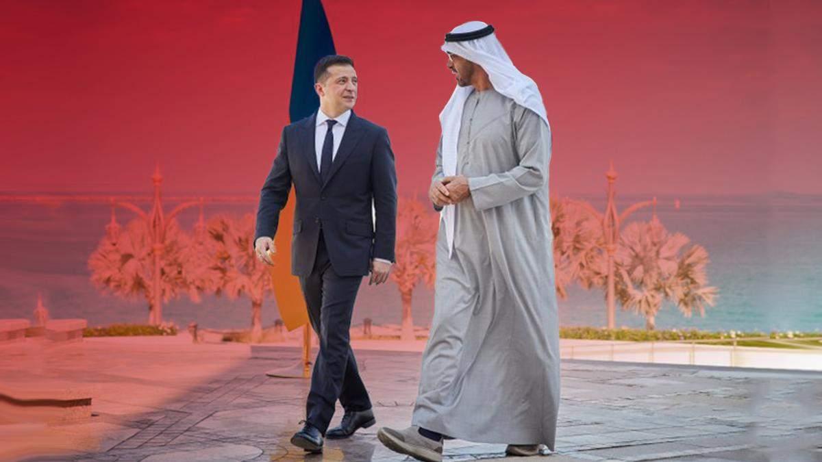 Чем интересны для Владимира Зеленского страны Ближнего Востока