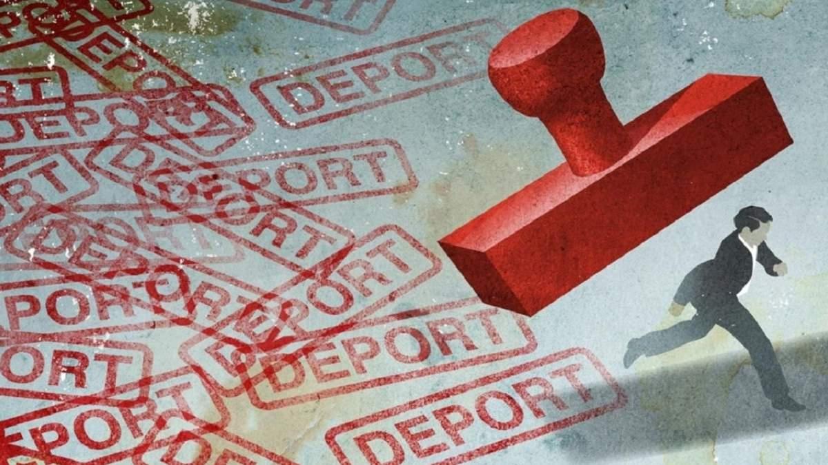 Санкции против контрабандистов: 3 ексгромадян Украины депортируют