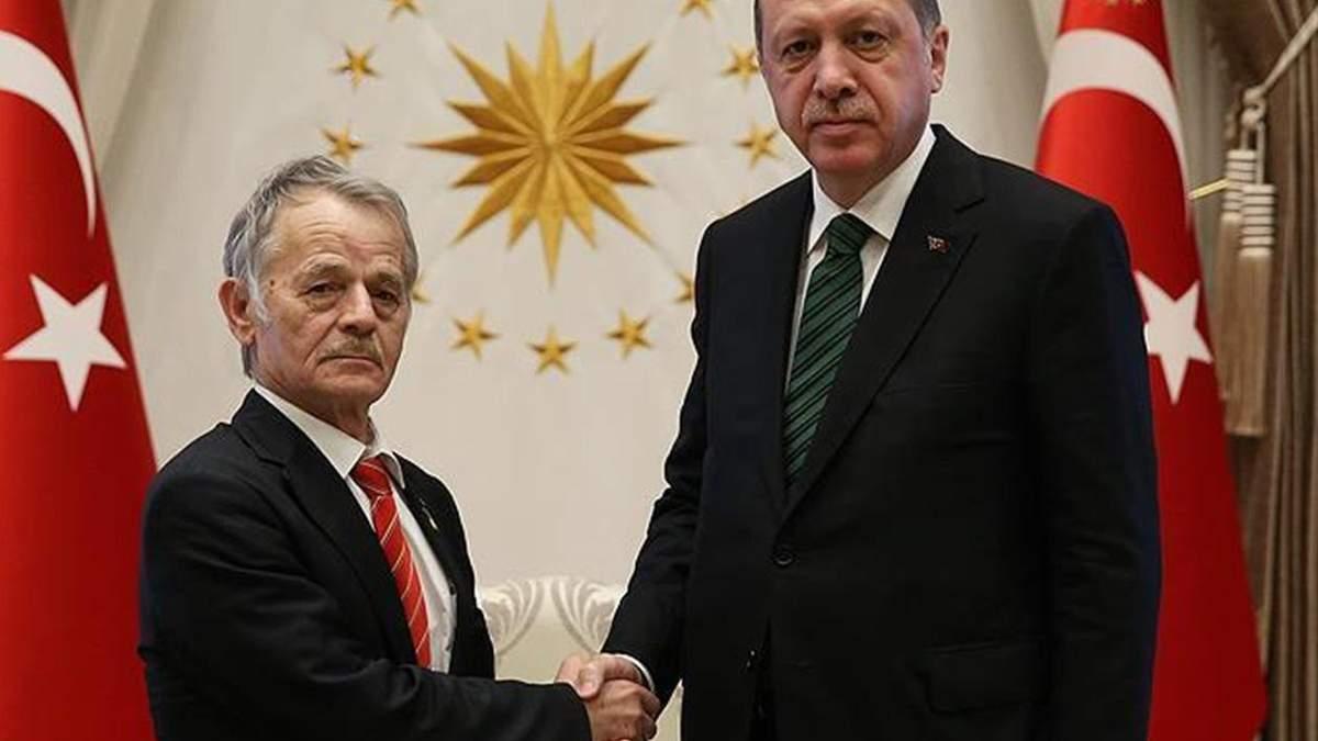 Эрдоган и Джемилев обсудили Крымскую платформу