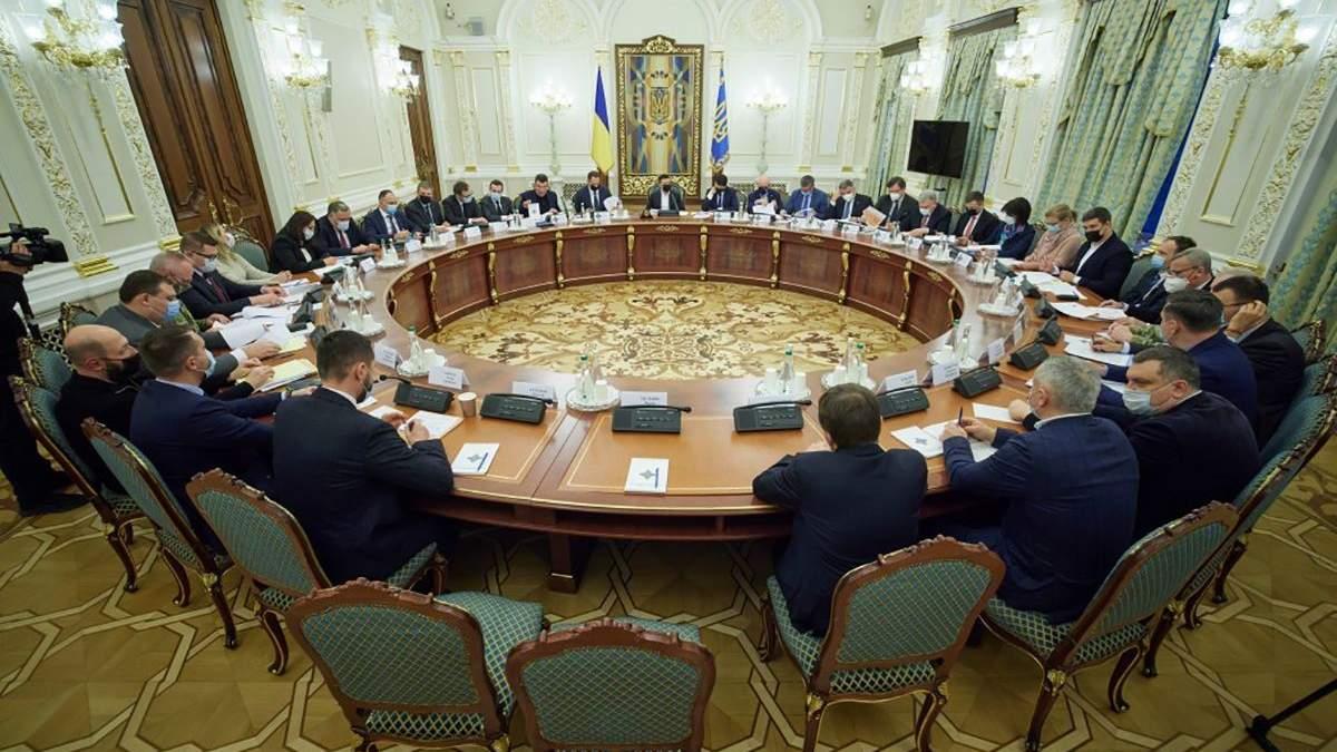 СНБО соберется на заседание 15 апреля 2021: о чем будут говорить