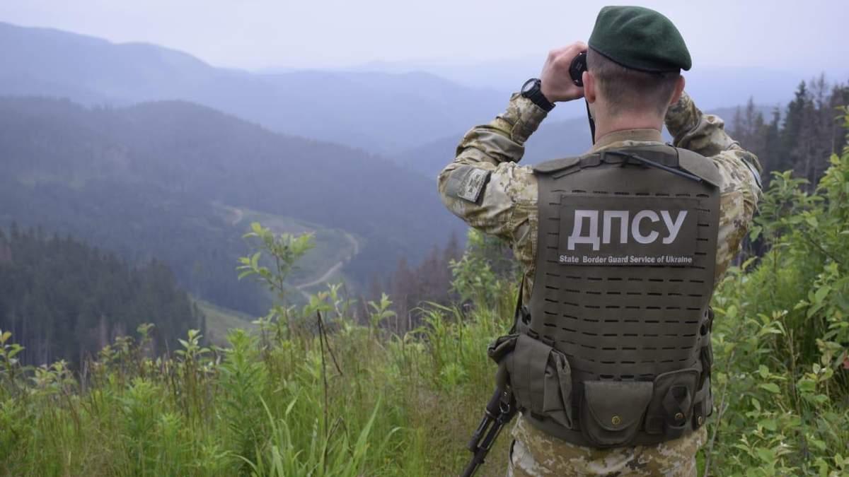 Украинские пограничники устроили учения на границе с Молдовой