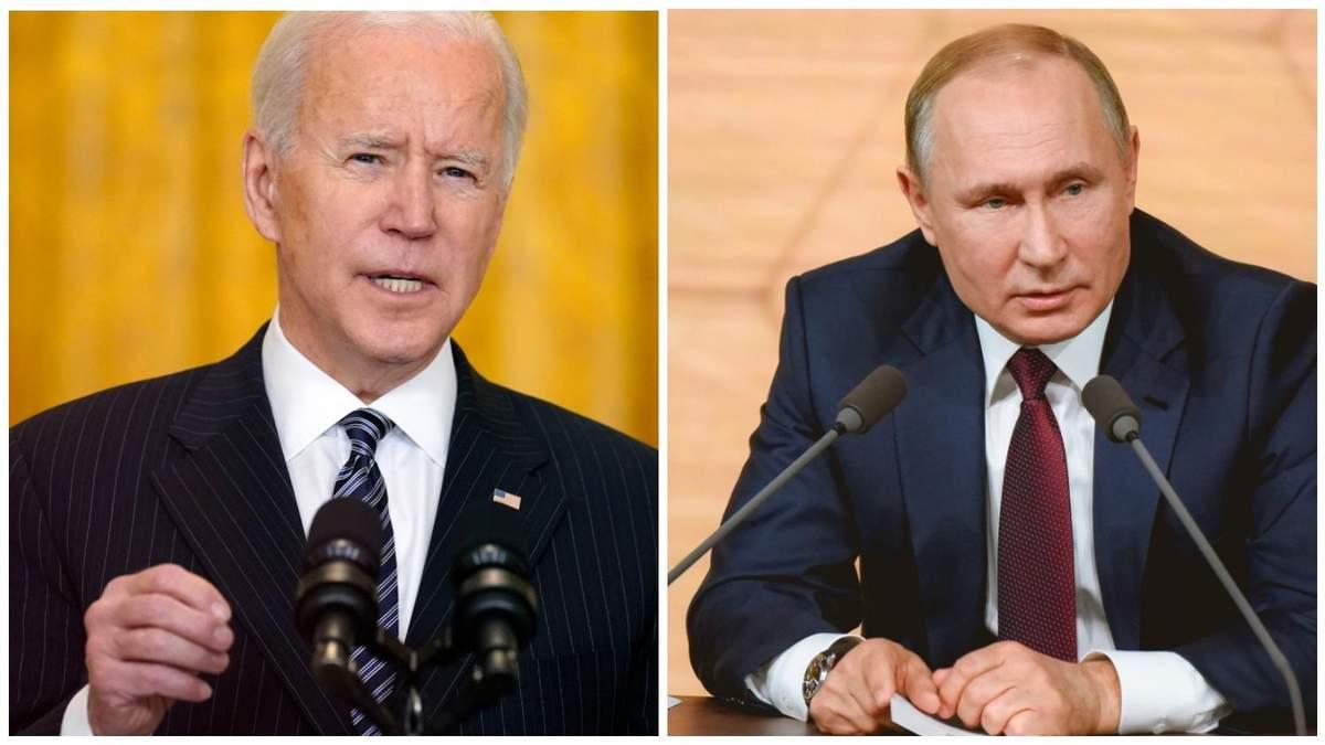 Байден сподівається на зустріч з Путіним навіть попри введення санкцій
