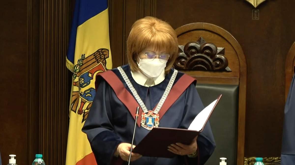Конституційний Суд Молдови підтримав Санду щодо розпуску парламенту