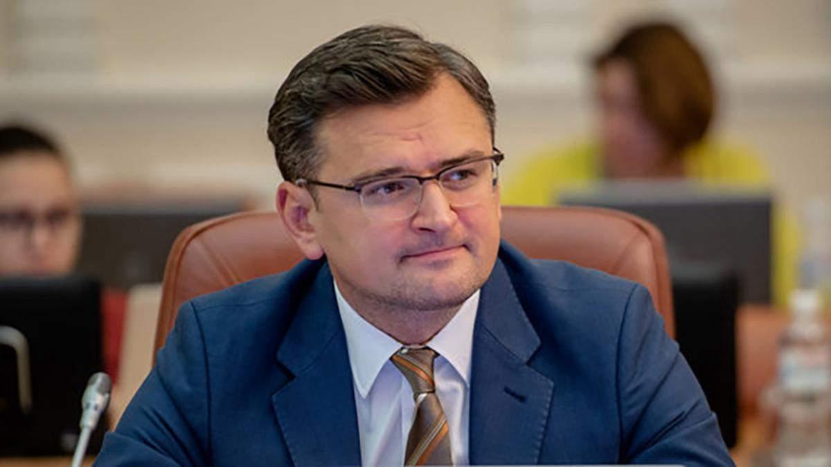 Дмитро Кулеба відреагував на нові санкції США проти Росії