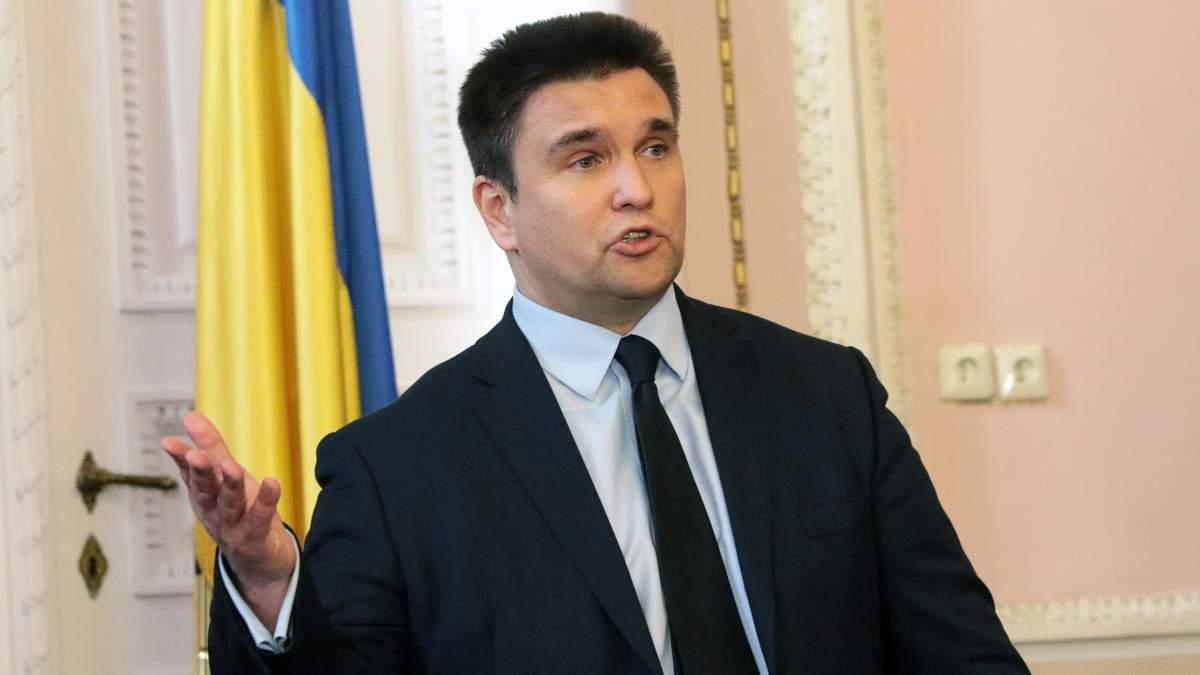 Клімкін: Надзвичайний стан, який ввів Байден, дозволяє відправити війська США в Україну