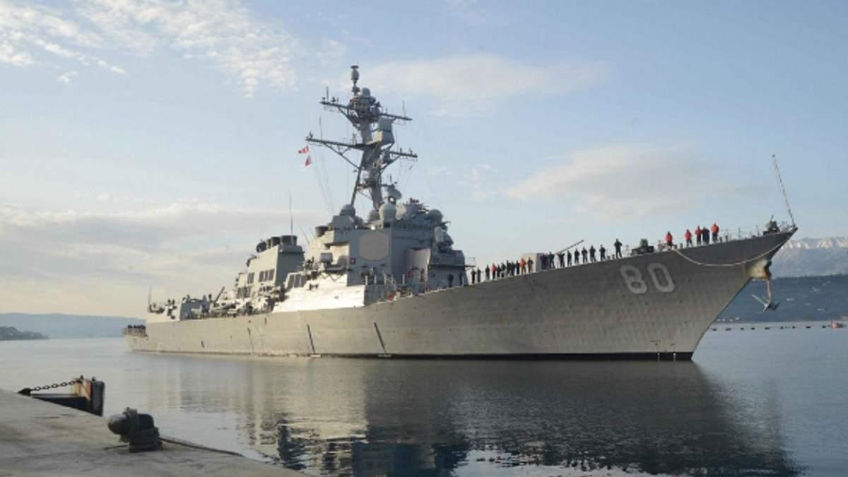 Почему США передумали отправлять корабли в Черное море