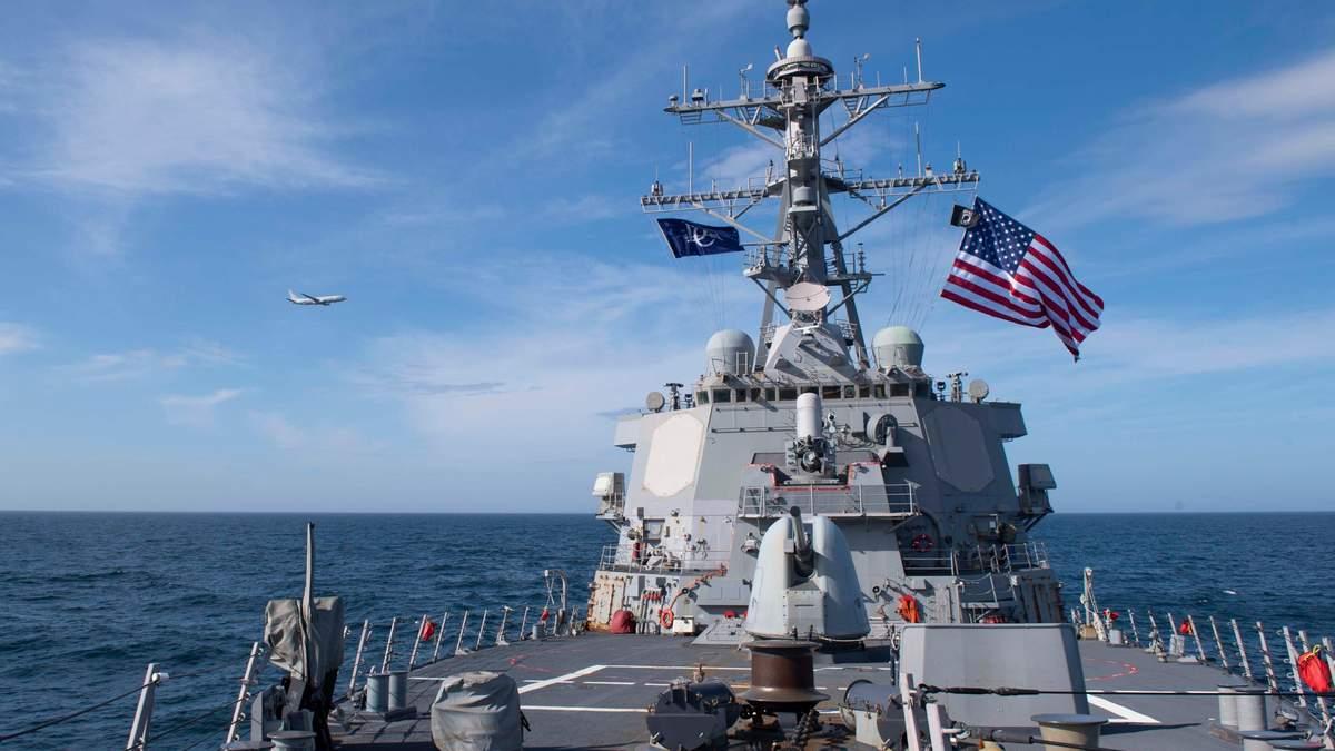 ВМС Украины объяснили, почему эсминцы США до сих пор не в Черном море