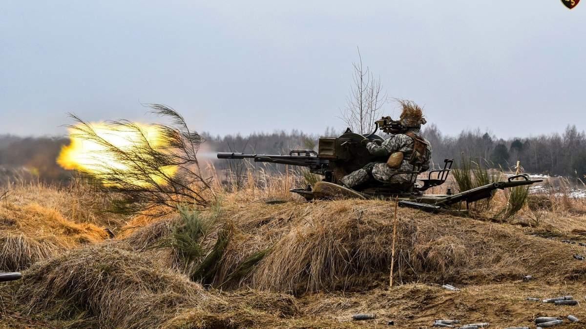 ВСУ провели тренировки с США и странами НАТО фото