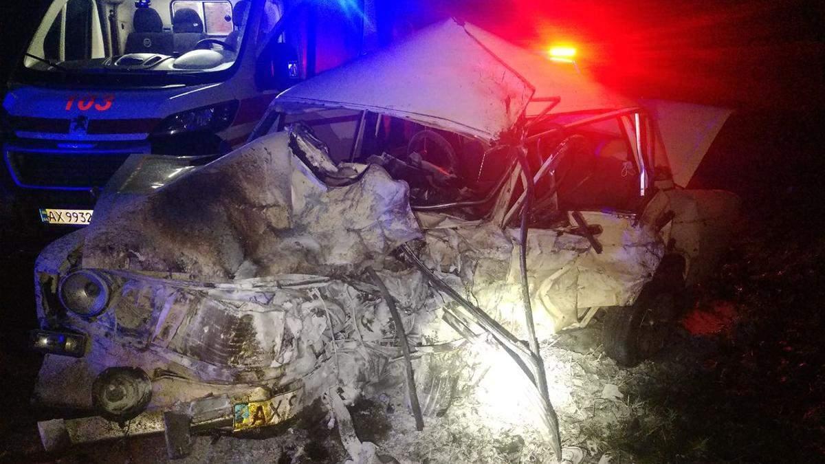Під Чугуєвом сталася смертельна ДТП: юний водій помер на місці