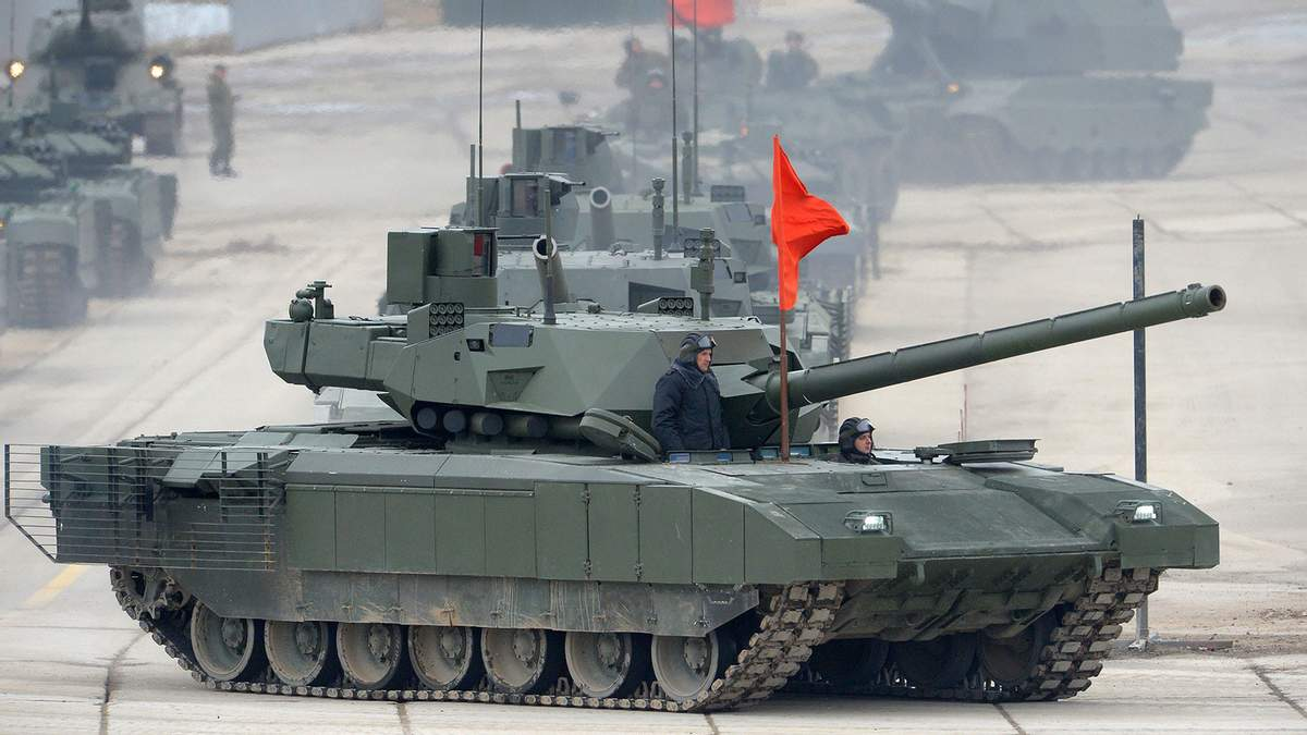 Т-14 Армата - провал Росії