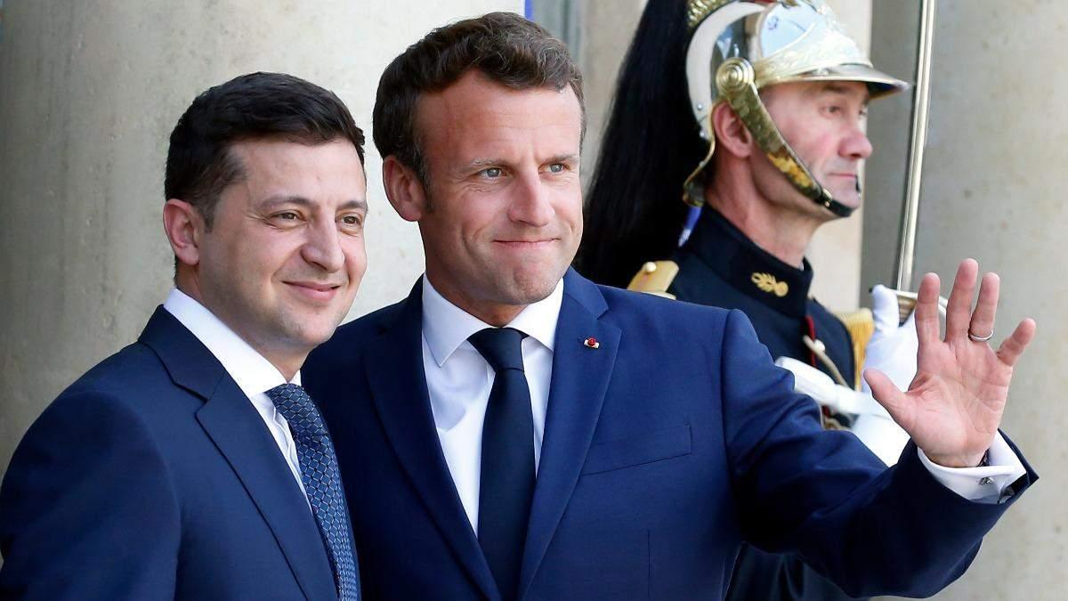 Зеленский прибыл в Париж: встреча с Макрона уже начали
