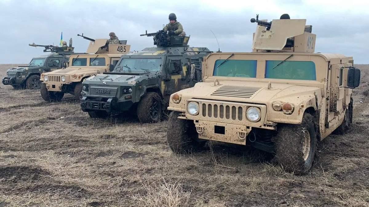 Пограничники проводят обучение в Донецкой области: фото, видео