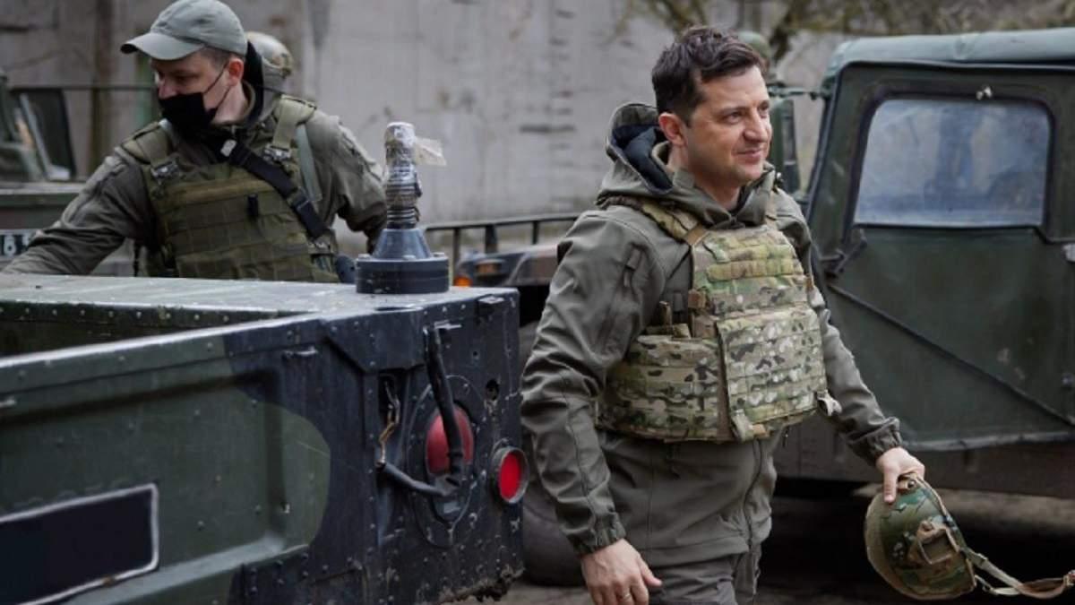 Зеленский назвал условия для возвращения мира на Донбассе