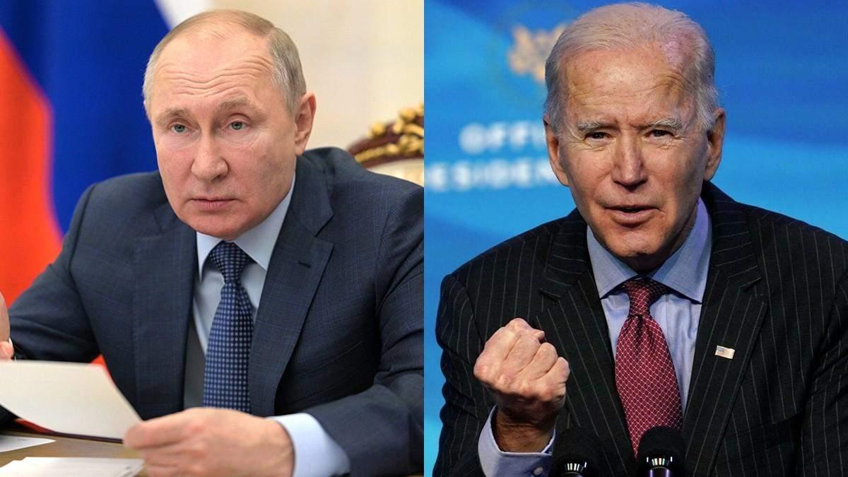 Антипутинская коалиция: Байден готовит намордник для президента России