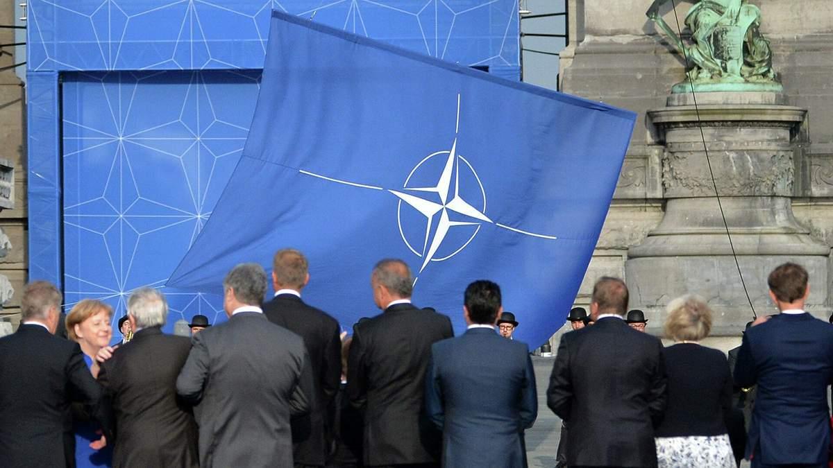 Ситуация на границах Украины препятствует вступлению в НАТО, - Эйдман