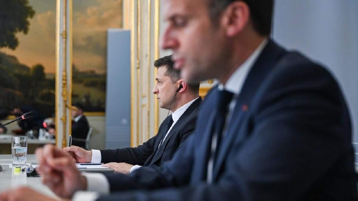 Мы с Макроном на одной волне, - Зеленский о визите во Францию