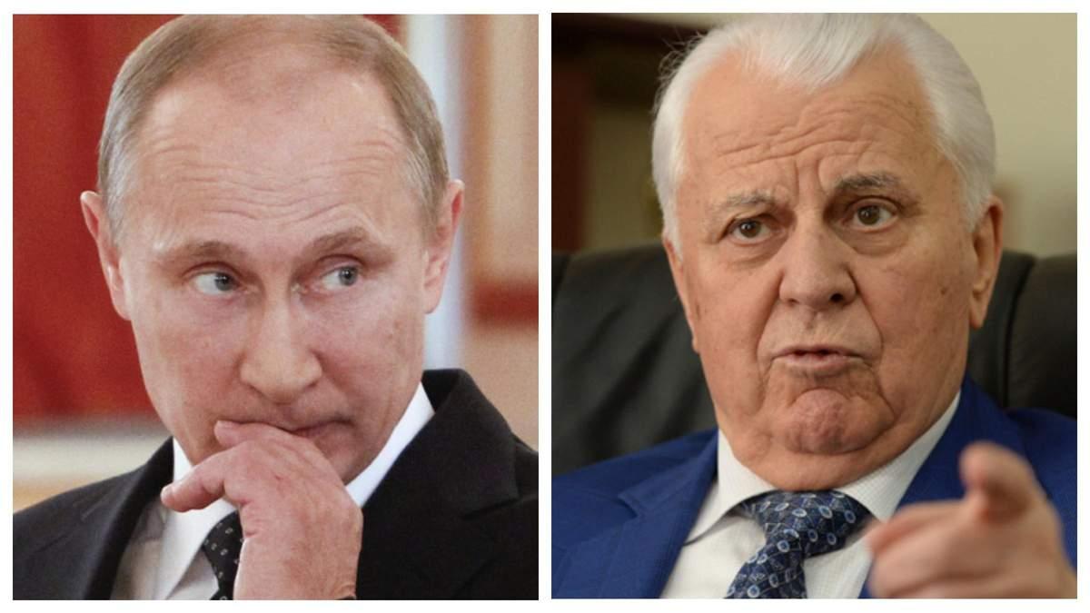 Путину можно дать разве что под дых – Кравчук о компромиссах с Россией