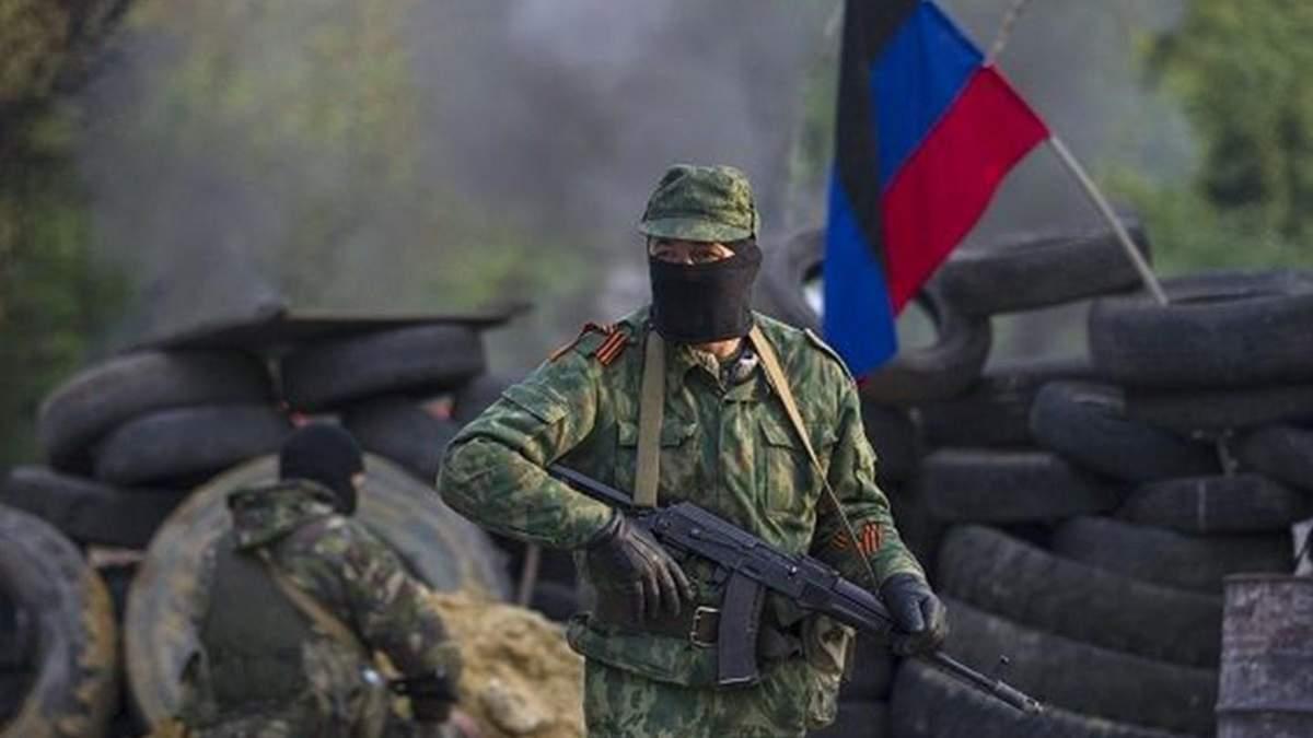 На Донбассе 16 апреля 2021 самоликвидировался оккупант