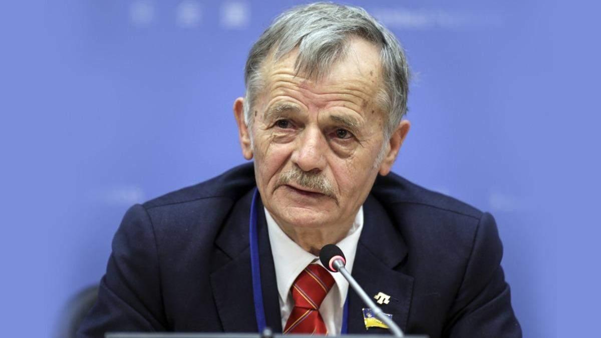 Джемілєв каже, що Єрмак радив йому покинути ЄС