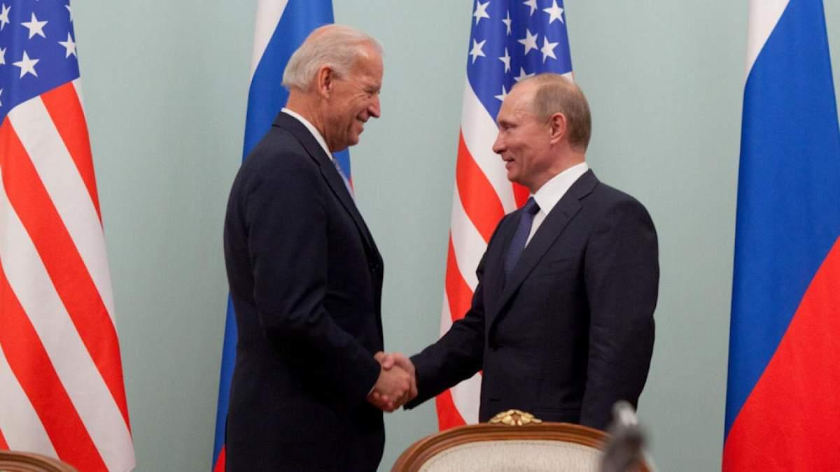 Назвали ідеальне місце для зустрічі Байдена з Путіним