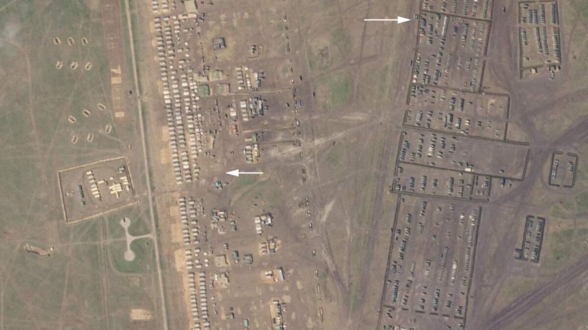Росія побудувала новий військовий табір в Криму: фото з супутника