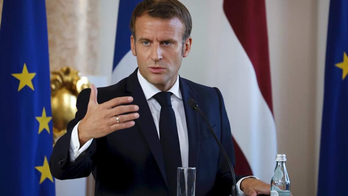 Не допустимо нових військових операцій в Україні, – Макрон
