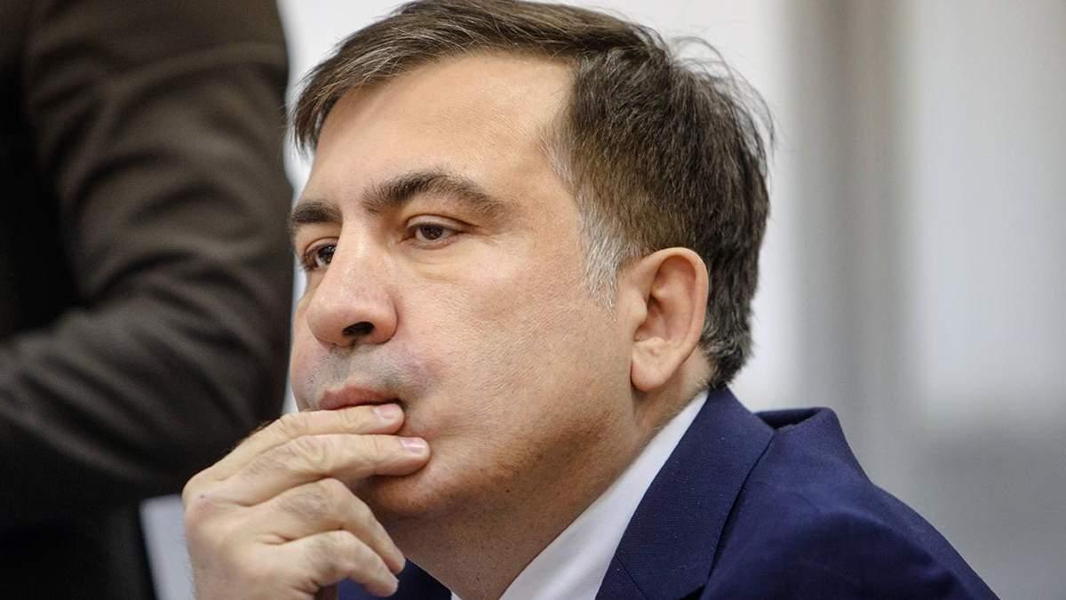 Саакашвили сравнил ситуацию в Украине с 2008 годом в Грузии