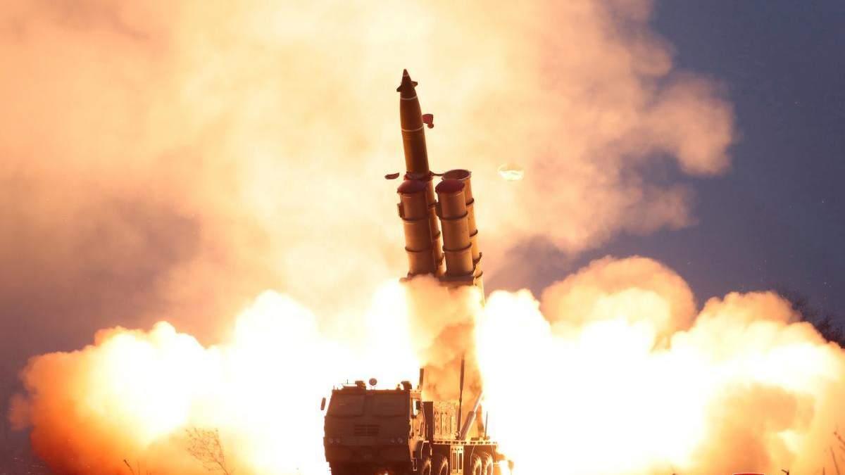 Запуск ракети в Кореї