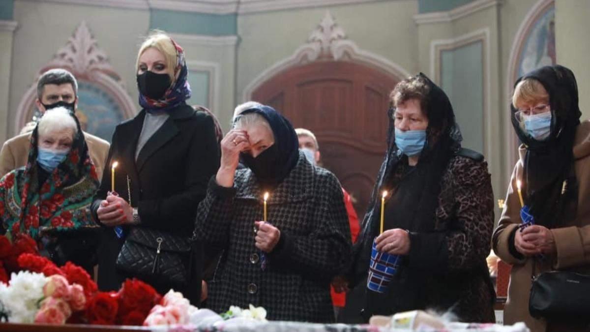 В Киеве попрощались с писателем Владимиром Яворивским